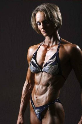 Corrina Hamill Natural Bodybuilder