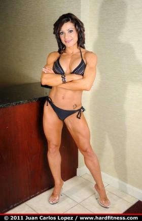 Elsie Velazquez Figure competitor.