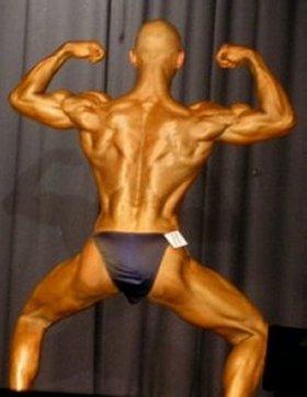 Eric Marriner Back Double Biceps