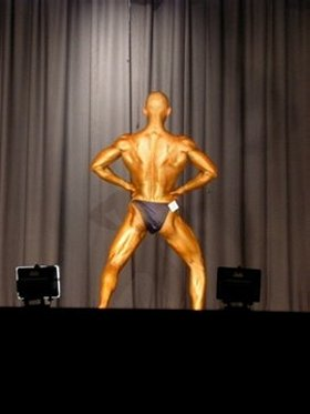 Eric Marriner Natural Bodybuiling Competition