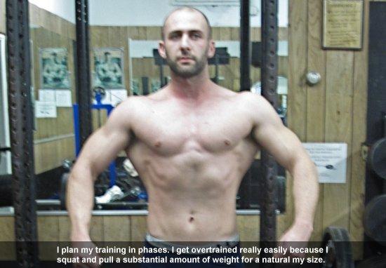 Eric Marriner Training Phases