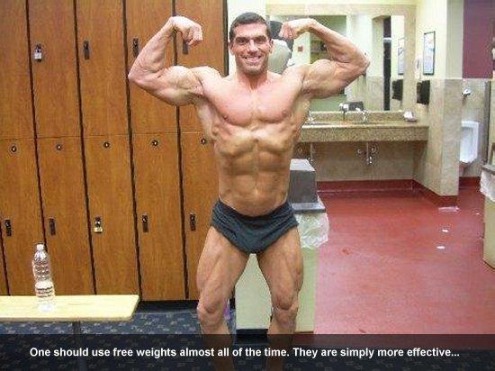 Joe Ohrablo on Free Weights