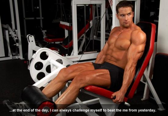 Laybe Norton Challenge of Bodybuilding