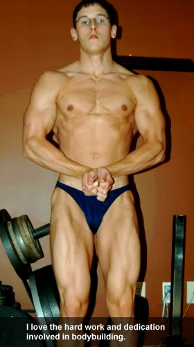 Bodybuilder Matt Burttram