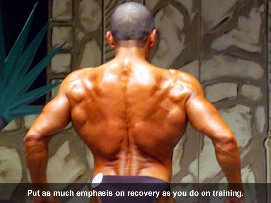 Put as much emphasis on recovery as you do on training.