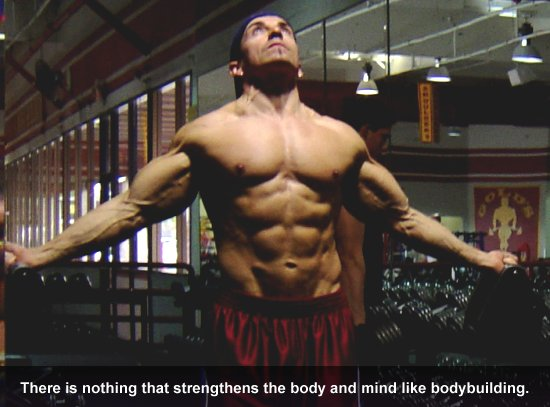 There is nothing that strengthens the body and mind like bodybuilding.