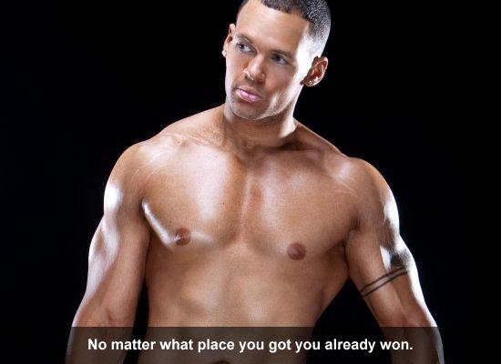 No matter what place you got you already won.