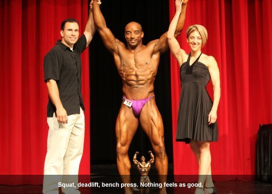 Paul Faison Champion Bodybuilder