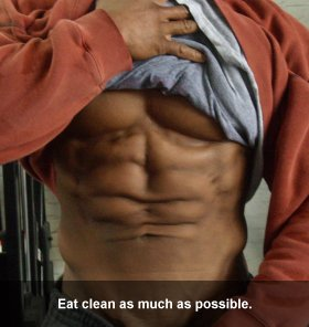 Paul Faison Eat Clean