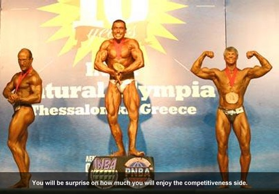 Rick Waters Bodybuilding Competition