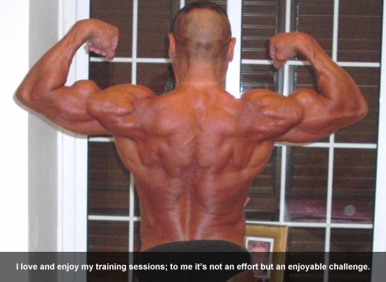 Bodybuilder Rick Waters on Training