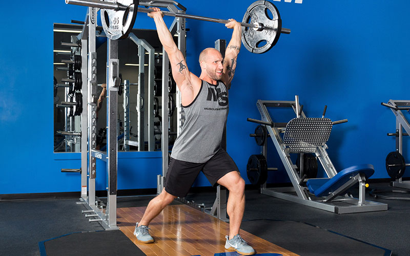 M&S Athlete Implementing Strongman Principles into his workout
