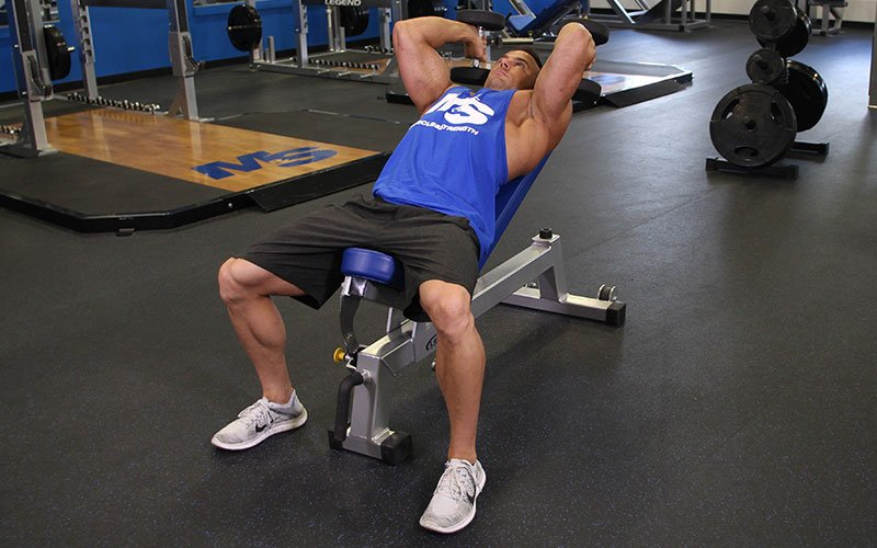 incline tricep extension - photo #18