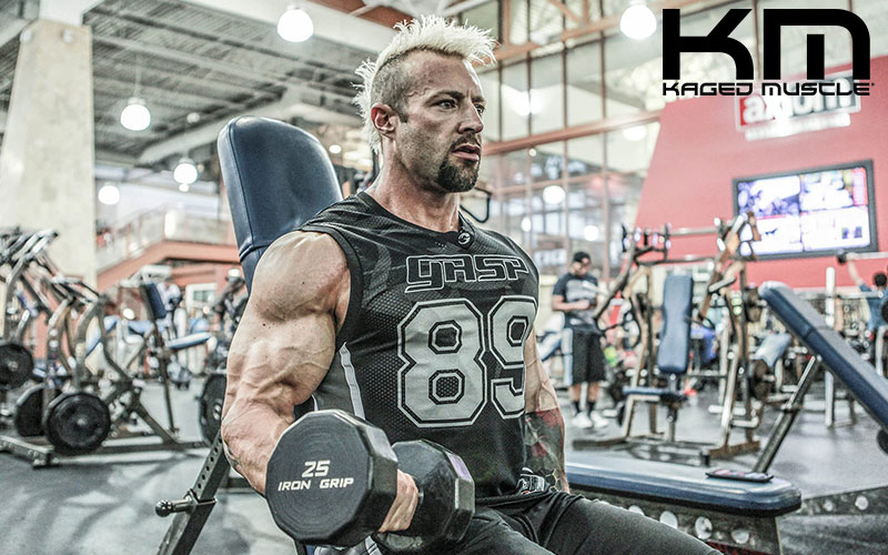 Kris Gethin's Bicep Mass Building Workout