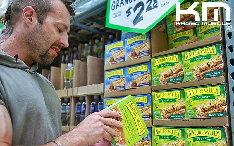 Kris Gethin's Bodybuilder Grocery Shopping Check List