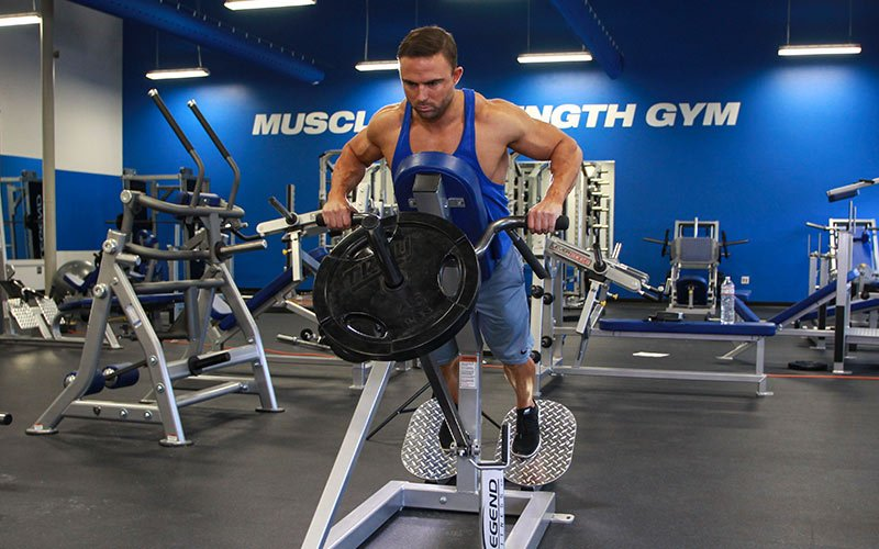 Machine T-Bar Row: Vid...T Bar Rows