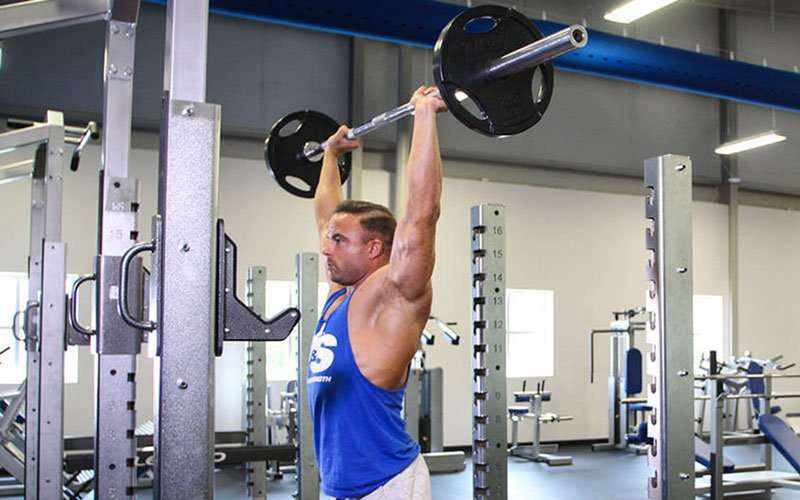 Military Press (AKA Overhead Press): Video Exercise Guide & Tips