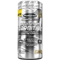 Platinum 100% Carnitine, 180 Caps