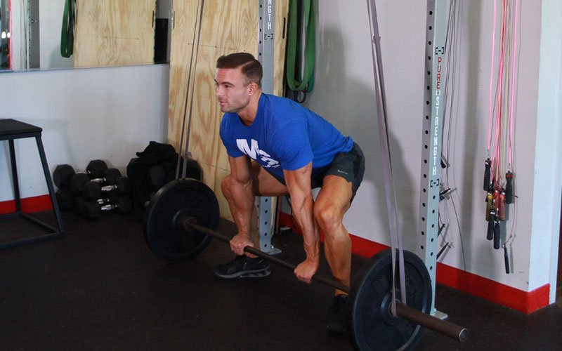 Reverse Band Sumo Deadlift: Video Exercise Guide & Tips