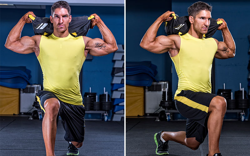 Sandbag Strength And Conditioning Workouts For MMA Training