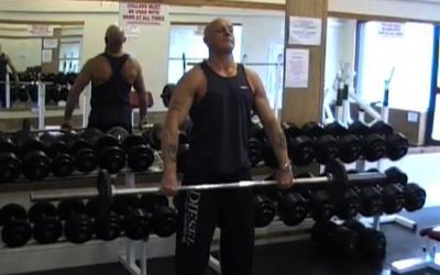 Wide Grip Upright Row