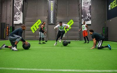 How to Improve Sport-Specific Acceleration & Speed for Big Men
