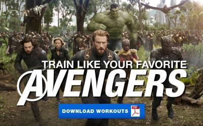 Train Like Your Favorite Avenger!