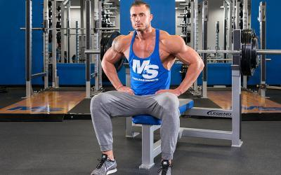 Do the Barbell Neck Press for Greater Chest Gains!