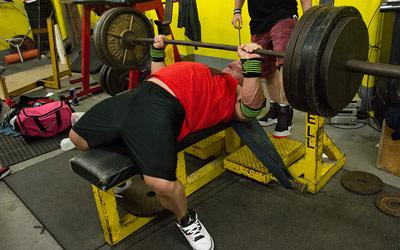 "Big On The Basics: Bench Press With Powerlifter Garrett ""Gunz"" Griffin"