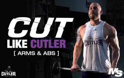 Cut Like Cutler Exercise Videos - Arms & Abs