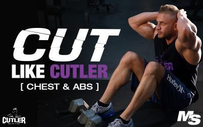 Cut Like Cutler Exercise Videos - Chest & Abs