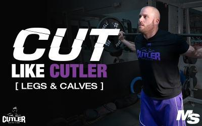 Cut Like Cutler Exercise Videos - Legs & Calves