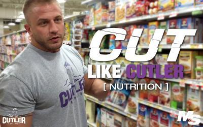 Cut Like Cutler Nutrition Plan