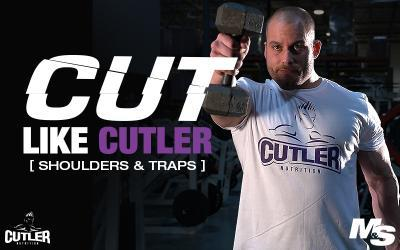 Cut Like Cutler Exercise Videos - Shoulders & Traps