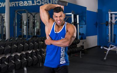 4 Dumbbell Exercises for Tricep Strength