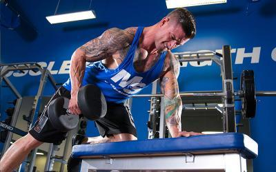 Top Six Dumbbell Exercises for Athletic Muscle