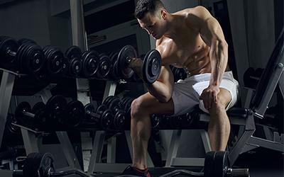 Man Gain Muscle Mass