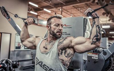 Kris Gethin's 7 Part Plan for Big Arms