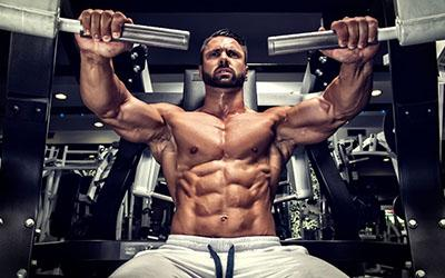 Man Chest Workout Abs