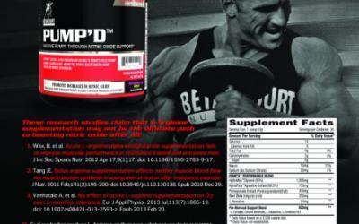 Betancourt Nutrition's PUMP'D