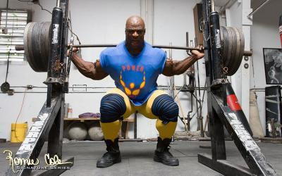 How To Squat Wiith Ronnie Coleman