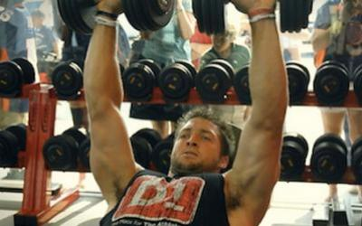 Tim Tebow's Upper Body Muscle Building Workout
