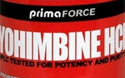 The Sporto Zone: Yohimbine HCl