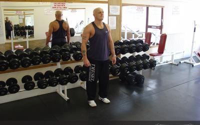 Bodyweight Side Lunge