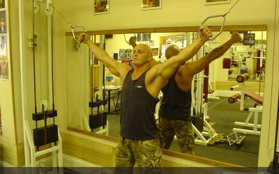 Cable Crossovers (upper chest)