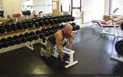 Dumbbell Reverse Fly On Incline Bench