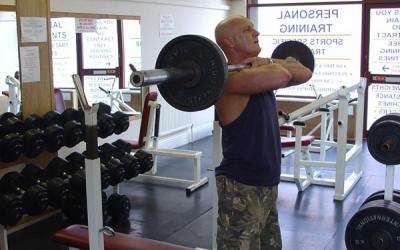 Front Squat To Bench