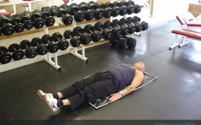 Lying Alternate Floor Leg Raise