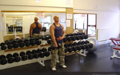 One Arm Dumbbell Upright Row