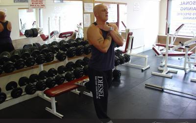 One Leg Bodyweight Squat
